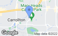 Map of Carrollton, TX