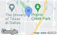 Map of Richardson, TX