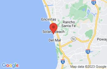 Map of Solana Beach