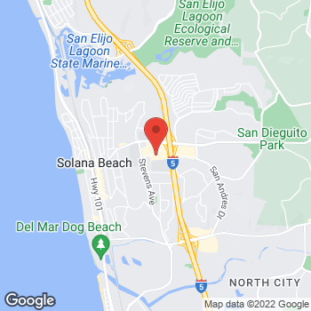 Map of Panera Bread at 667 San Rodolfo Drive, Solana Beach, CA 92075