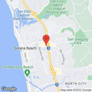 Map of Staples at 681 San Rodolfo Drive, Solana Beach, CA 92075