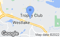 Map of Trophy Club, TX