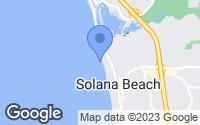 Map of Solana Beach, CA