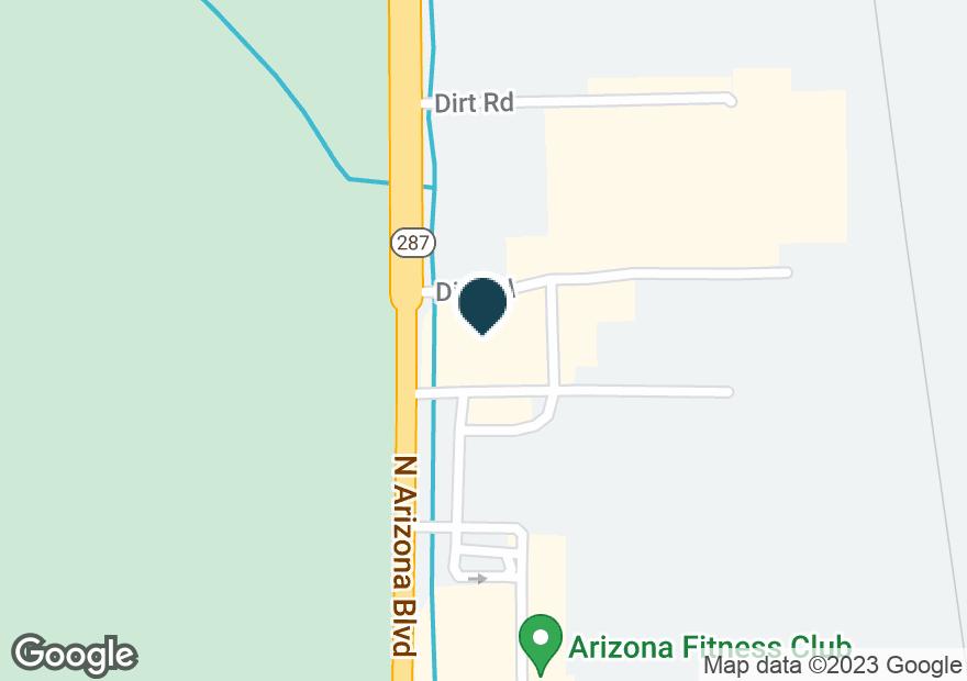 Google Map of1575 N ARIZONA BLVD