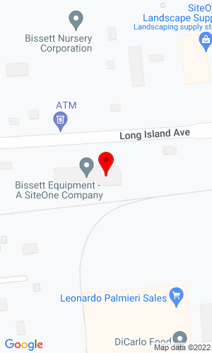 Google Map of Bissett Equipment 320 Long Island Avenue, Holtsville, NY, 11742