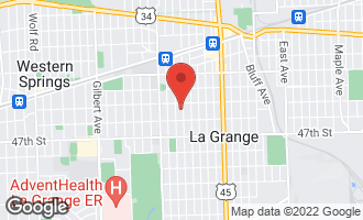 Map of 320 South Spring Avenue LA GRANGE, IL 60525