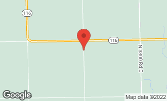 Map of 3200 East Road CULLOM, IL 60929