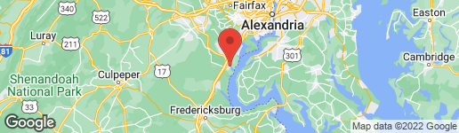 Map of 3205 RIVERVIEW DRIVE TRIANGLE, VA 22172