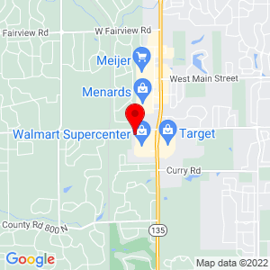 Google Map of 3209 W Smith Valley Rd Ste 238 Greenwood, IN 46142