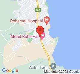 Google Map of 321%2C+boul.+marcotte%2CRoberval%2CQuebec+G8H+1Z4