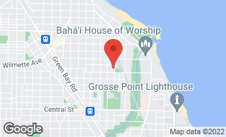 Map of 321 4th Street WILMETTE, IL 60091