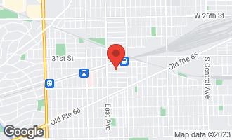 Map of 3212 Gunderson Avenue BERWYN, IL 60402