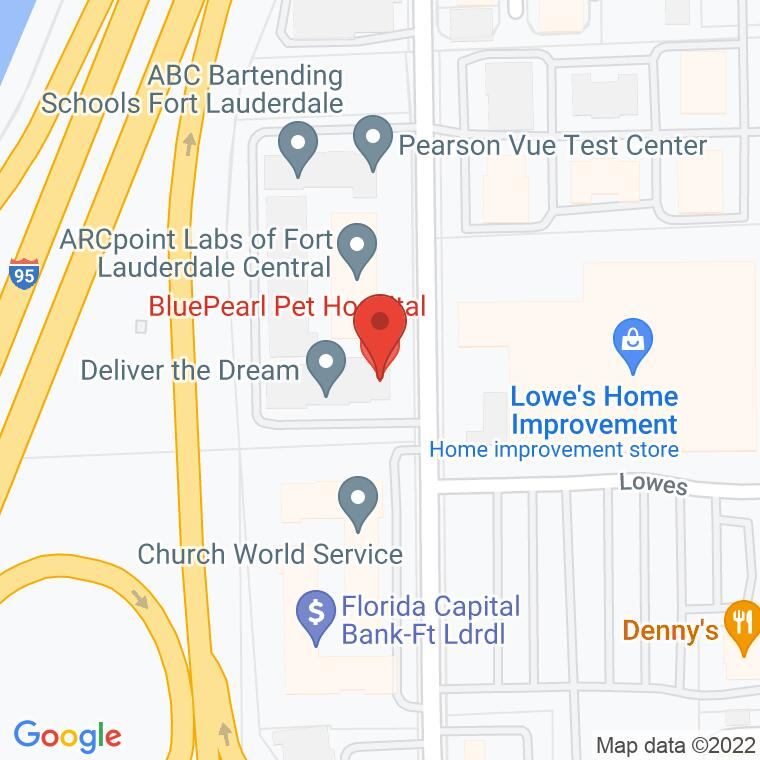 Google Map of 3217 NW 10th Terrace Suites 302-306, Fort Lauderdale, FL 33309, 3217 NW 10th Terrace Suites 302-306, Fort Lauderdale, FL 33309
