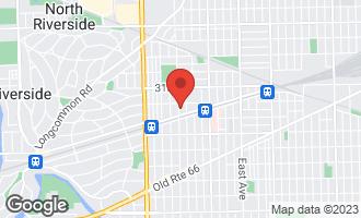 Map of 3219 South Home Avenue BERWYN, IL 60402