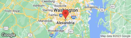 Map of 322 THIRD STREET ALEXANDRIA, VA 22314
