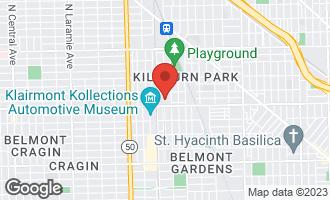 Map of 3224 North Kilbourn Avenue #13 CHICAGO, IL 60641