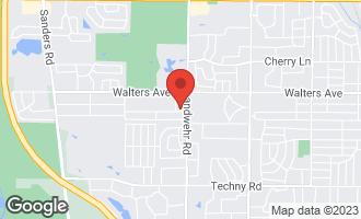 Map of 3224 River Falls Drive #3224 NORTHBROOK, IL 60062