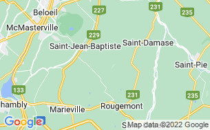 Map of Camping Au Pied Du Mont