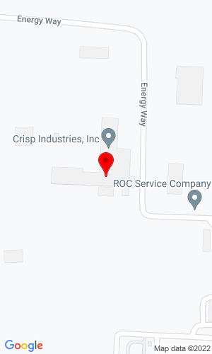Google Map of Crisp Industries Inc 323 Energy Way, Bridgeport, TX, 76426