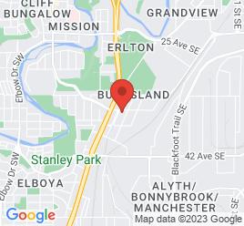 Google Map of 323+-+36+Ave+SE%2CCalgary%2CAlberta+T2G+1W2