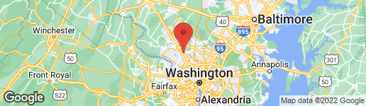 Map of 323 BEALL AVENUE ROCKVILLE, MD 20850