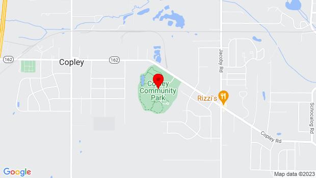 Google Map of 3232 Copley Road, Copley, OH 44321
