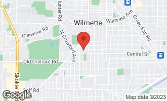 Map of 3232 Hartzell Street EVANSTON, IL 60201