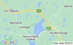 Map of Camping La Baie Du Soleil
