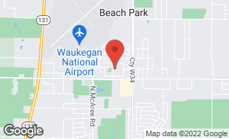 Map of 3235 Newcastle Road WAUKEGAN, IL 60087