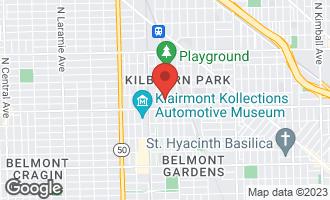 Map of 3237 North Kilbourn Avenue CHICAGO, IL 60641