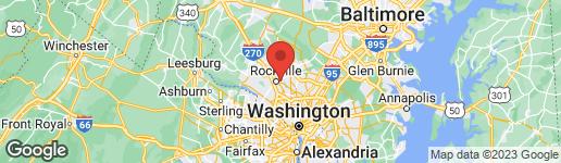 Map of 324 EDMONSTON DRIVE W ROCKVILLE, MD 20852