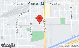 Map of 3242 South 49th Avenue CICERO, IL 60804