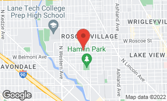 Map of 3249 North Hoyne Avenue #3 CHICAGO, IL 60618