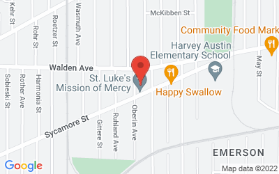 Map of St. Luke's Mission of Mercy