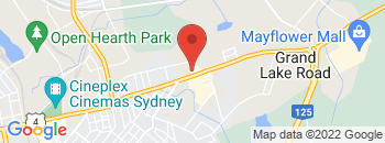 Google Map of 325+Welton+Street%2CSydney%2CNova+Scotia+B1P+5S3