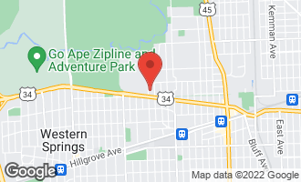 Map of 325 North Edgewood Avenue LA GRANGE PARK, IL 60526