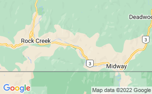 Map of Kettle River RV Park