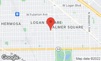 Map of 3256 West Armitage Avenue #6 CHICAGO, IL 60647
