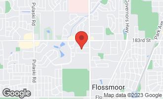 Map of 3257 184th Street 1B HOMEWOOD, IL 60430