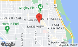 Map of 3257 North Seminary Avenue C CHICAGO, IL 60657