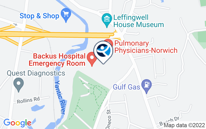 Backus Hospital Center For Mental Health Location and Directions