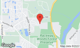 Map of 3281 Oak Knoll Road CARPENTERSVILLE, IL 60110