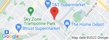 Google Map of 3285+Mavis+Road%2CMississauga%2COntario+L5C+1T7