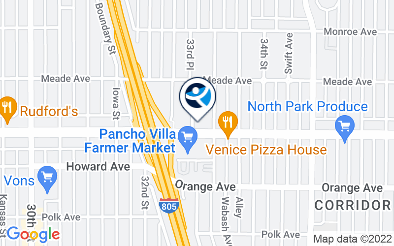 Union of Pan Asian Communities - El Cajon Blvd. Location and Directions