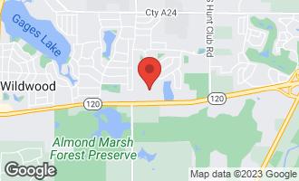 Map of 32992 North Stone Manor Drive GRAYSLAKE, IL 60030