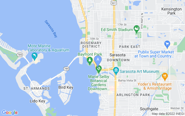 33 S Gulfstream Ave #503 Sarasota Florida 34236 locatior map