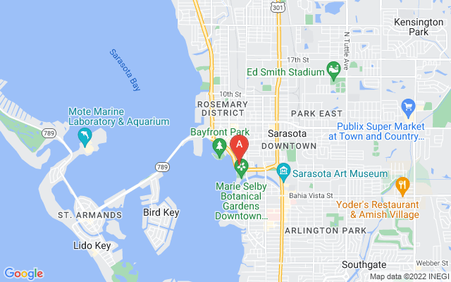 33 S Gulfstream Ave #409 Sarasota Florida 34236 locatior map