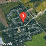 Satellite Map of 33 MANNHEIM Crescent, Mannheim, Ontario