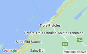 Map of Camping Municipal Saint-Fabien