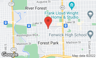 Map of 33 Rockford Avenue 3CE FOREST PARK, IL 60130